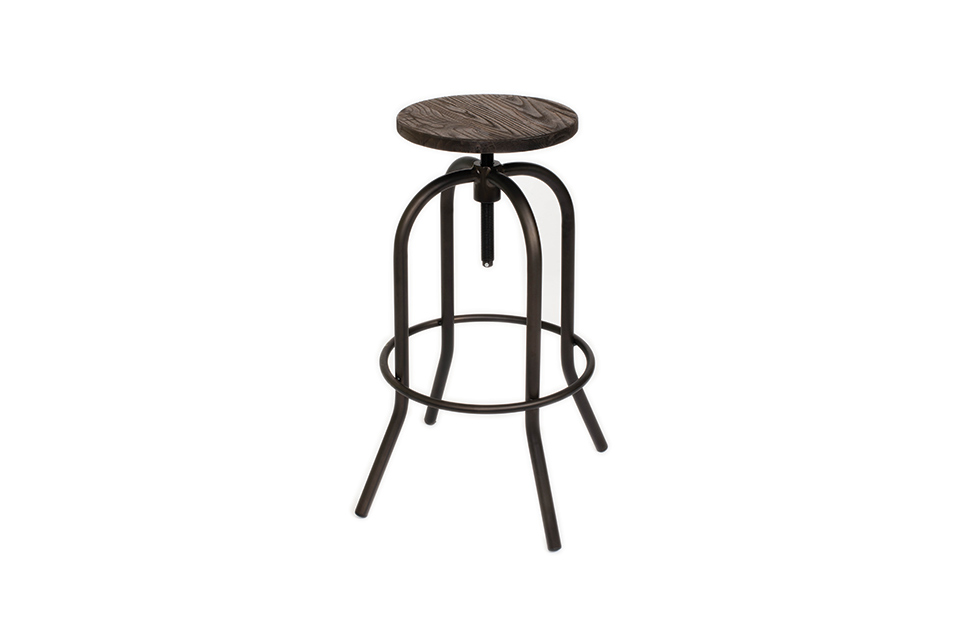 Flint Square Adjustable Stool