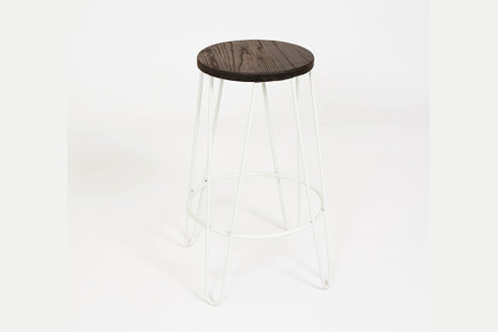 Terrific Hairpin Counter Stool White Pdpeps Interior Chair Design Pdpepsorg