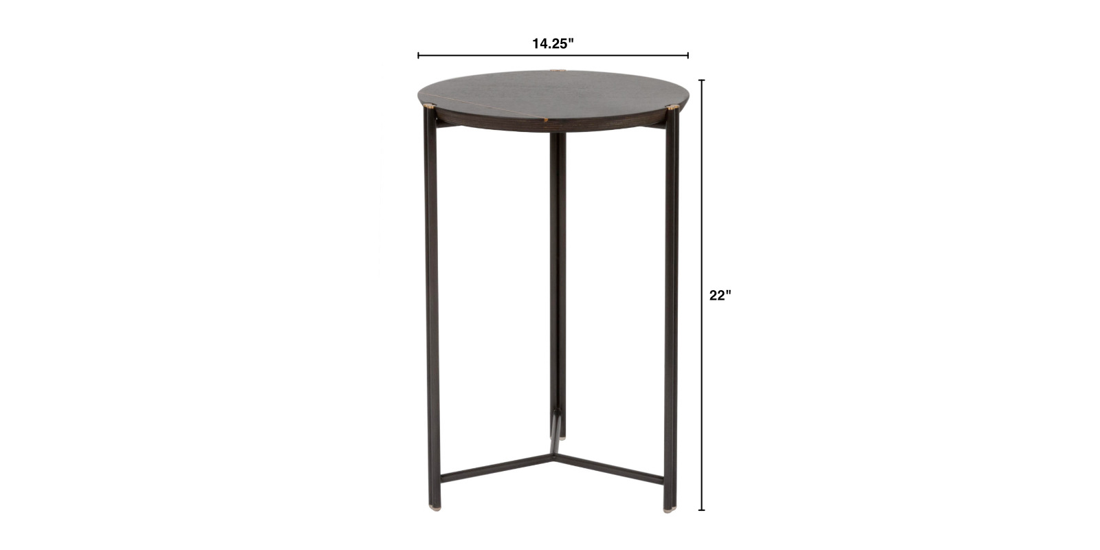 Trio Occassional Table Dimensions