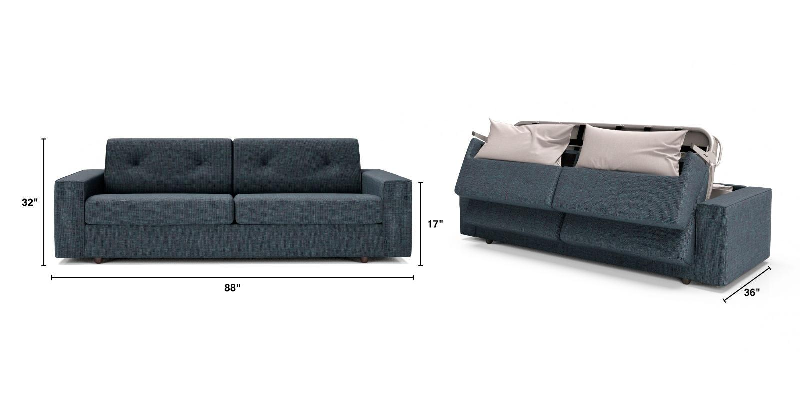 Fold Queen size sofa bed dimensions
