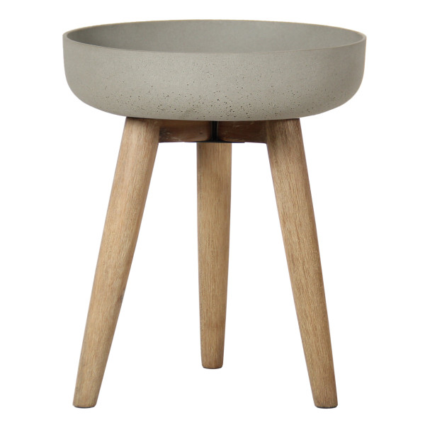 Sandstone Planting Bowl on Stand