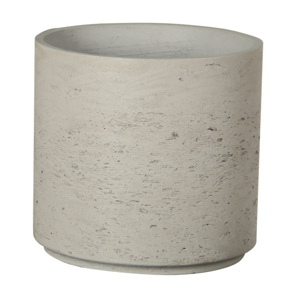 Cylindrical Cement Pot