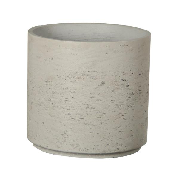 Cylindrical Cement Pot - Medium