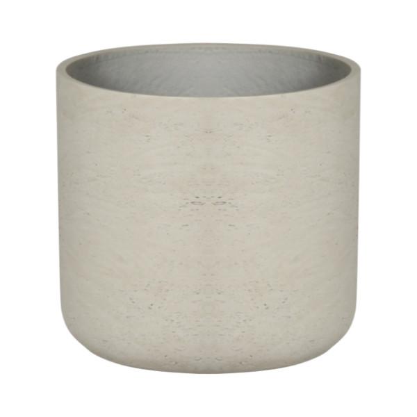 Round U Cement Pot - Large