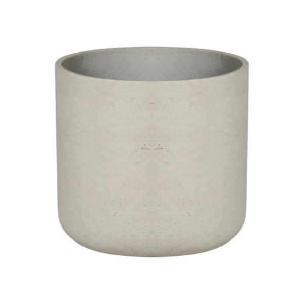 Round U Cement Pot - Medium