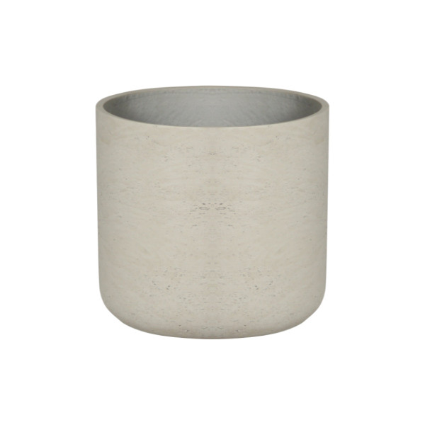 Round U Cement Pot - Small