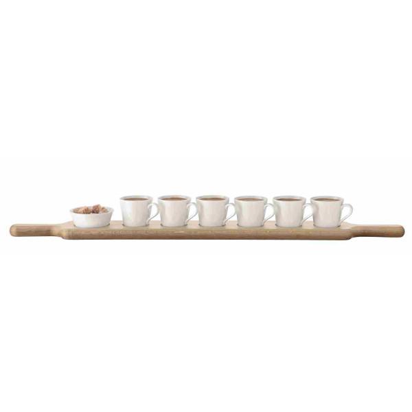PADDLE Espresso set Oak base 74 cm