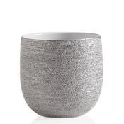 "Brava Silver Spun Textured 5"" Drop"