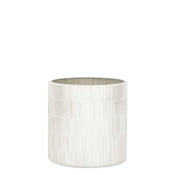 "Bamboo Glass Mosaic 5"" Drop Planter"