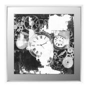 Old Ticker - 40x40 Framed Under Gla