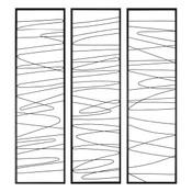Linear Wall Sculpture