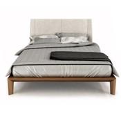 Dusk King Bed Upholstered Headboard