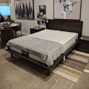 Herman Queen Bed - Smokey Walnut