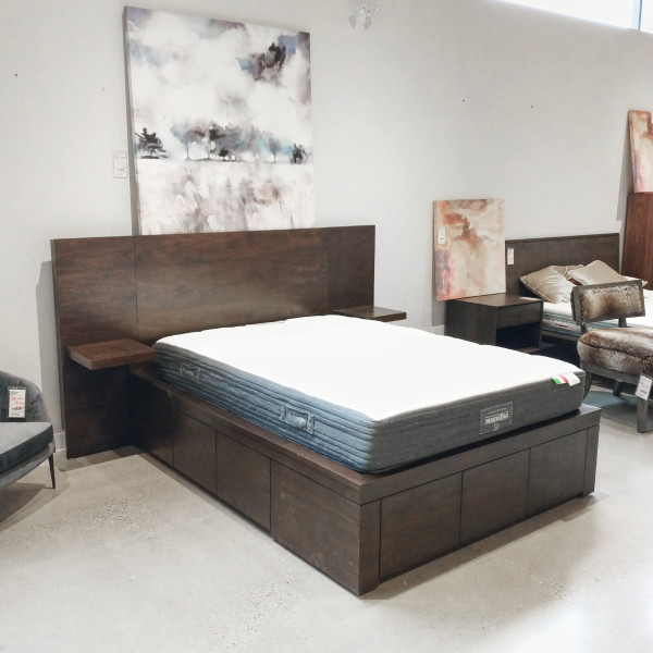 Lure Double Storage Bed