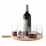 PADDLE Water/Wine serving set 40 cm