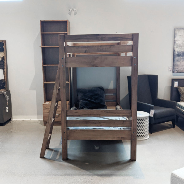 Bunk bed with nightstands