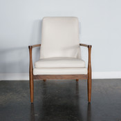 Aaron Chair - Bison White