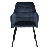 Emmie Lounge Chair - Blue Velvet