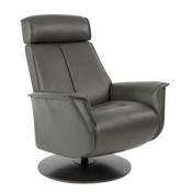 Bo Recliner - Slate Leather