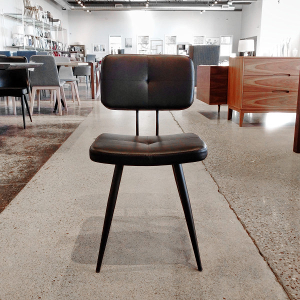 Dickson Dining Chair - Black/Black