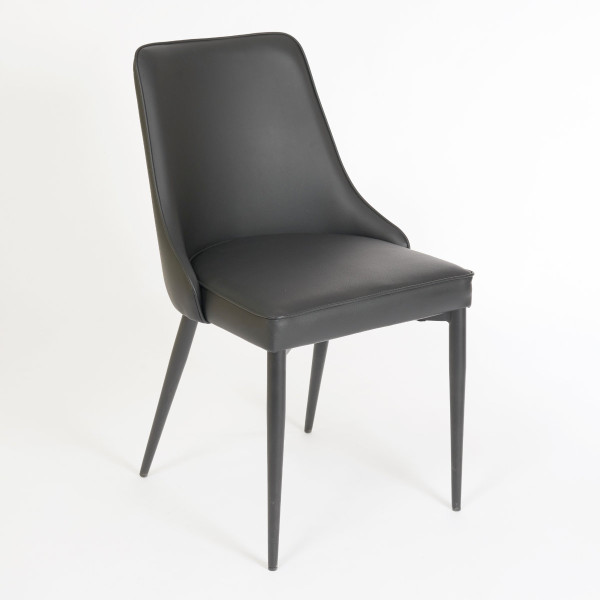 Robin Dining Chair Black Black Casalife