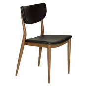 Maverick Chair - Black Leatherette