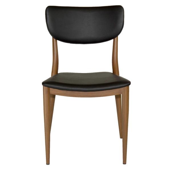 Maverick Chair - Black Leatherette