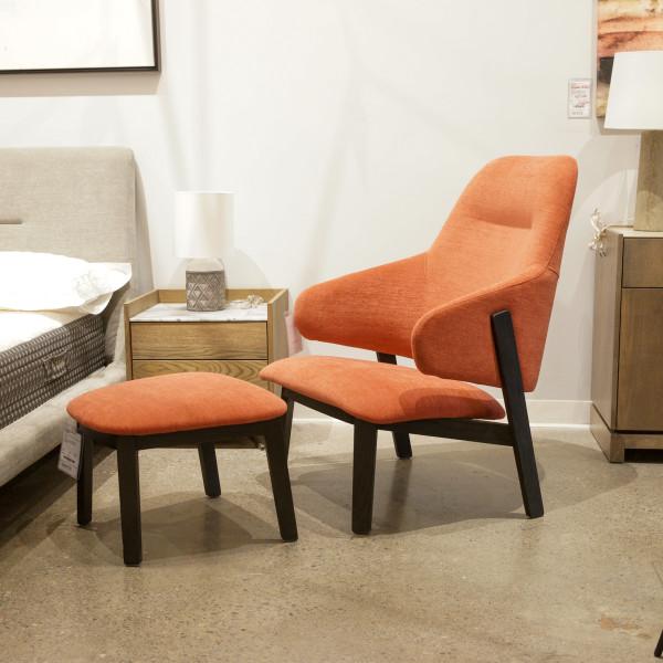 Wolfgang High Back Lounge Chair
