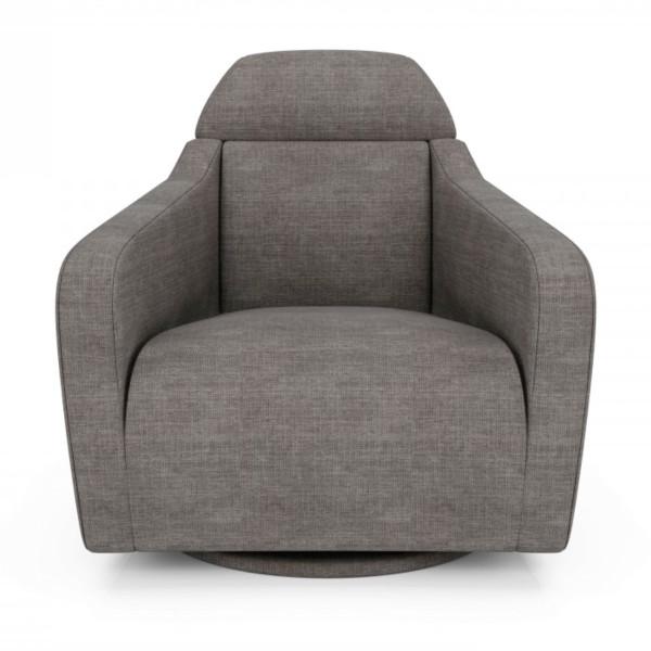 Teo Swivel Arm Chair Casalife Furniture Toronto Kitchener