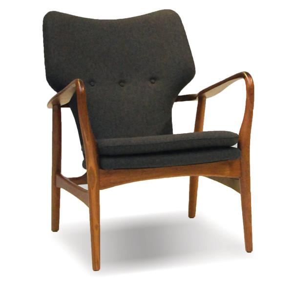Ingrid Lounge Chair - Grey