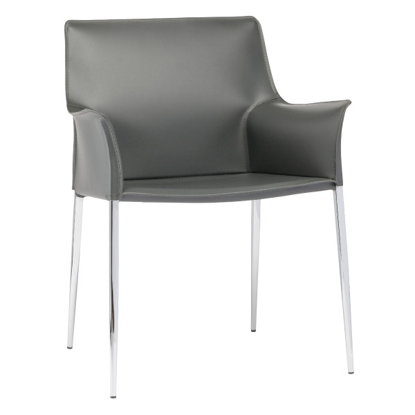 Colter Dining Armchair - Grey