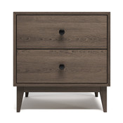 "Bedford 23"" 2 Drawer Nightstand"