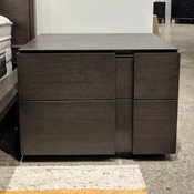Dusk 2 Drawer Night Stand - Smokey