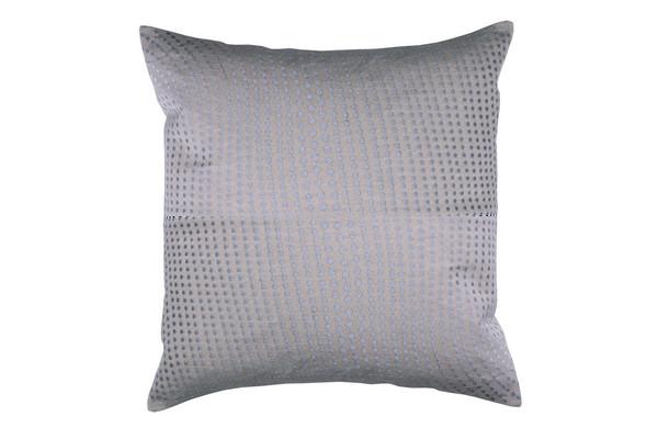 Cascade 20x20 Cushion - Silver