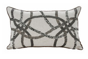Casablanca 12x20 Cushion - Grey