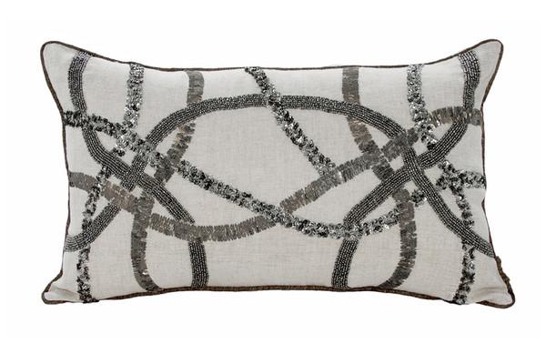 Casablanca 12x20 Cushion - Grey