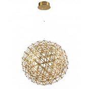 Caged Frame Ball - Gold