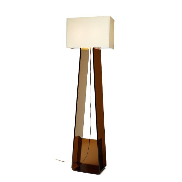 Tube Top Floor Lamp