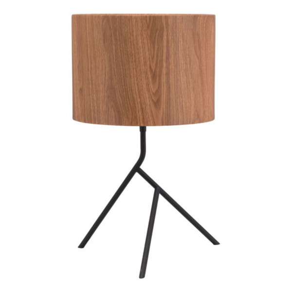 Sutton Table Lamp - Brown And Matte