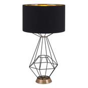 Delancey Table Lamp - Black
