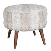 Suki Fabric Footstool