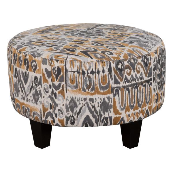 Small Round Fabric Ottoman Furniture Toronto Kitchener