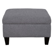 Small Square Fabric Ottoman