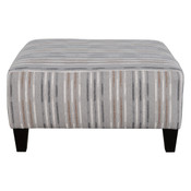 Medium Square Fabric Ottoman