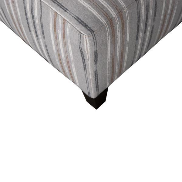 Medium Square Fabric Ottoman