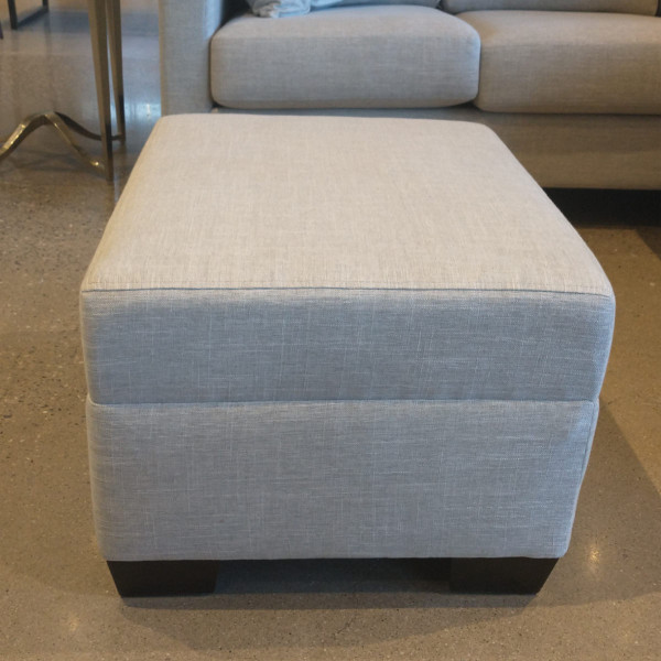 Deluxe Ottoman - Campbell Stone