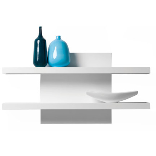 Cargo Shelf Wall Unit - White