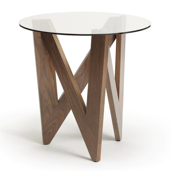 Check Round End Table