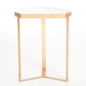 Tri-Hex Side Table