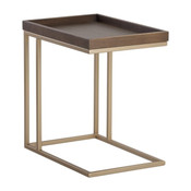 Arden C Shaped End Table